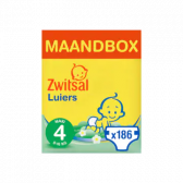 Zwitsal Maxi maat 4 luiers volumepak