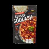 Jumbo Hungarian beef goulash