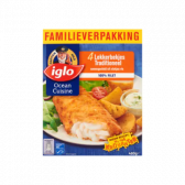 Iglo Traditional fried fish family pack (only available within Europe)