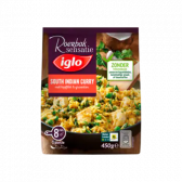 Iglo South Indian curry with vegetables and chicken filet (only available within Europe)