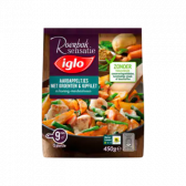 Iglo Potatoes with vegetables and chicken filet in honey-mustard sauce (only available within Europe)