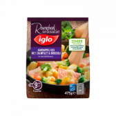 Iglo Potatoes with salmon filet and broccoli in mustard sauce (only available within Europe)