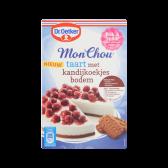 Dr. Oetker Monchou taart met kandijkoekjes bodem