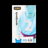 Jumbo Standaard 2 opvolgmelk (vanaf 6 tot 10 maanden)