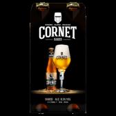 Cornet Oaked strong blond Belgian beer
