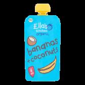 Ella's Kitchen Biologische bananen en kokosnoten (vanaf 4 maanden)