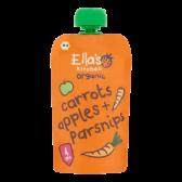 Ella's Kitchen Biologische wortels, appels en pastinaak (vanaf 4 maanden)