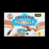Jumbo Chocolate cookies with vanilla cream