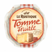 Le Rustique Tomme fruitee cheese (only available within Europe)