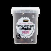 Jumbo Tripel chocolade koekjes deeg (voor uw eigen risico)
