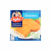 Iglo Fish schnitzels (only available within Europe)