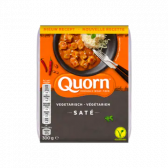 Quorn Vegetarian satay (at your own risk, no refunds applicable)