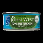 John West Tonijnstukken in water MSC