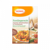 Honig Swedish meat balls with tomato sauce family dish