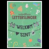 Jumbo Sinterklaas letterslinger Welkom Sint