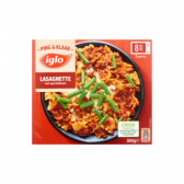 Iglo Lasagnette with snap beans (only available within Europe)