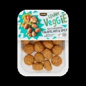 Jumbo Lekker veggie 100% plantaardige heet en kruidige falafel (alleen beschikbaar binnen Europa)