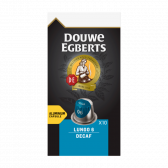 Douwe Egberts Lungo decaf koffiecups