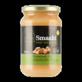 Smaakt Organic fine peanut butter large