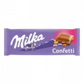 Milka Confetti chocolate tablet
