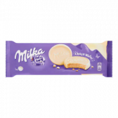 Milka Chocolate wafer cookie with white chocolate