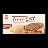 LU Time out granenbiscuits melkchocolade