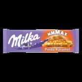 Milka Mmmax peanut caramel chocolate tablet