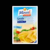 Minus L Lacto free Gouda cheese slices