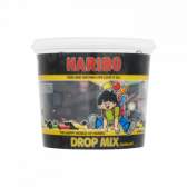 Haribo Gekleurde dropmix silo