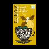 Clipper Biologische citroen en gember thee