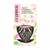 Clipper Biologische citroengras, eucalyptus en ginkgo thee zen again