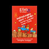 Ella's Kitchen Biologische smikkelvingers met appel en aardbei (vanaf 12 maanden)