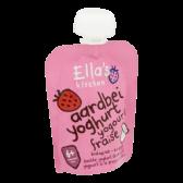 Ella's Kitchen Biologische aardbeien yoghurt (vanaf 6 maanden)