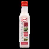 Hela Salad and sandwich raspberry dressing