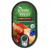 John West Haringfilets in gekruide tomatensaus