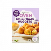 Jumbo Veggie chef vegetarian oven chilli-cheese nuggets (at your own risk)