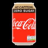 Coca Cola Zero sugar no caffeine blik