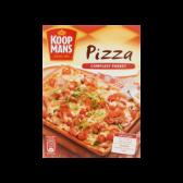 Koopmans Pizza bottom mix with tomato sauce