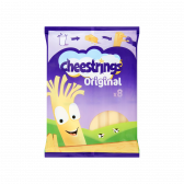 Cheestrings Strip cheese natural 40+ large (only available within Europe)