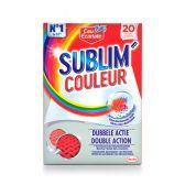 Eau Ecarlate Washing cloths sublim color
