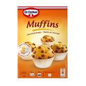 Dr. Oetker Muffins with chocolate pieces preparation