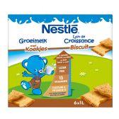 Nestle Grow milk biscuit 6-pack (1 year)