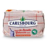 Carlsbourg Gekarnde zeezout boter 81% vet