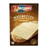 Jacques White chocolate matinettes
