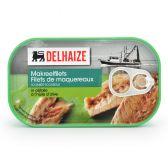 Delhaize Makreel filets olijfolie