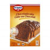 Dr. Oetker Chocolate cake glaze preparation