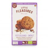 Little Pleasures Organic gluten free oat-chocolate cookies