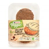 Delhaize Biologische hazelnootburger vegetarisch (alleen beschikbaar binnen Europa)