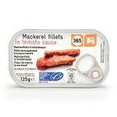 Delhaize 365 Makreel filets tomatensaus