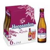 Hoegaarden Rose white beer